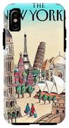New Yorker April 20th, 2009 IPhone X Tough Case
