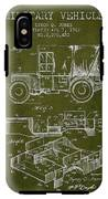 Vintage Military Vehicle Patent From 1942 IPhone X Tough Case