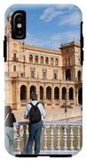 Plaza De Espana Pavilion In Seville IPhone X Tough Case