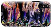 Plm Of Crystals Of Testosterone IPhone X Tough Case