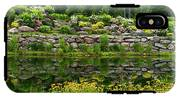 Rocks And Plants In Rock Garden IPhone X Tough Case
