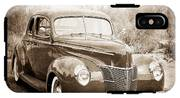 1940 Ford Deluxe Coupe IPhone X Tough Case
