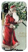 Christmas Card IPhone X Tough Case