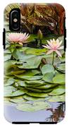6 Pink Waterlilies IPhone X Tough Case