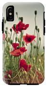 Poppy Meadow IPhone X Tough Case