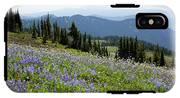 Wa, Goat Rocks Wilderness, Wildflower IPhone X Tough Case