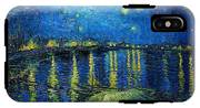 Starry Night Over The Rhone IPhone X Tough Case