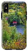 Fall Forest And Lake IPhone X Tough Case