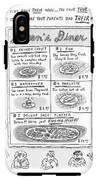 Doreen's Diner IPhone X Tough Case