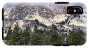 A Beautiful View Of Mount Ogden From Snowbasin 2/1 Pano IPhone X Tough Case