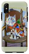 A Cat For Picasso_ Chat Et Souris IPhone X Tough Case