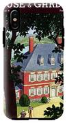 A Colonial Manor House IPhone X Tough Case