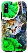 A Curious Cat IPhone X Tough Case