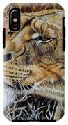 A Curious Lioness IPhone X Tough Case
