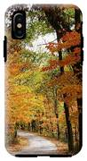 A Drive Through The Woods IPhone X Tough Case