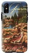 A Fishing Scene IPhone X Tough Case