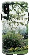 A Flower Bed In Mrs. Frank Audibert's Garden IPhone X Tough Case