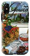 A Gourmet Cover Of A Fruit Basket IPhone X Tough Case