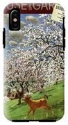 A House And Garden Cover Of A Calf IPhone X Tough Case
