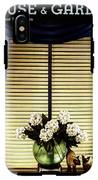A House And Garden Cover Of Flowers By A Window IPhone X Tough Case