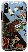 A House And Garden Cover Of People Moving House IPhone X Tough Case