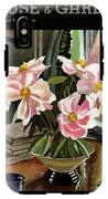 A House And Garden Cover Of Rhododendrons IPhone X Tough Case