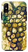 A Little Bit Abstract Grapes IPhone X Tough Case