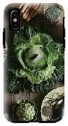 A Mixed Variety Of Food And Ceramic Imitations IPhone X Tough Case
