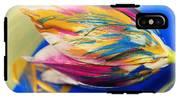 A Painted Tulip. IPhone X Tough Case