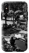 A Pond In An Ornamental Garden IPhone X Tough Case
