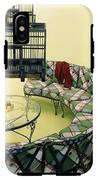 A Round Couch And A Birdcage IPhone X Tough Case