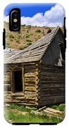 Abandoned Log Cabin IPhone X Tough Case