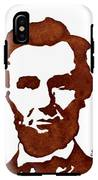 Abraham Lincoln Original Coffee Painting IPhone X Tough Case