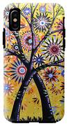 Abstract Modern Flowers Garden Art ... Flowering Tree IPhone X Tough Case
