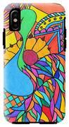 Abstract Peacock IPhone X Tough Case