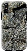 Abstract Rock View IPhone X Tough Case