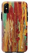 Abstract Sunset Over Tuscany  IPhone X Tough Case