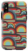 Abstract Textile Seamless Pattern Of IPhone X Tough Case