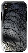 Against A Winter Sky IPhone X Tough Case