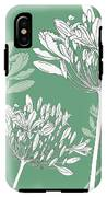 Agapanthus Breeze IPhone X Tough Case