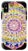 Alchemical Lotus Zodiac IPhone X Tough Case