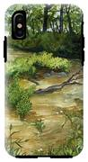 Allequash Creek On Trout Lake IPhone X Tough Case