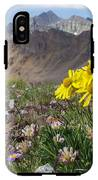 Alpine Flowers IPhone X Tough Case