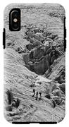 Alpinists On Glacier IPhone X Tough Case