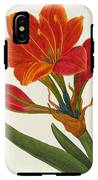 Amaryllis Purpurea IPhone X Tough Case