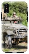 American Half Track IPhone X Tough Case