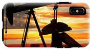 American Oil  IPhone X Tough Case