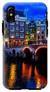 Amsterdam At Night II IPhone X Tough Case