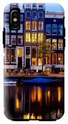 Amsterdam At Night IIi IPhone X Tough Case