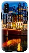 Amsterdam At Night Iv IPhone X Tough Case